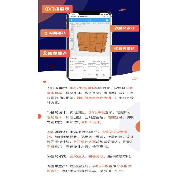 Haixun furniture design system---the new mobile phone market